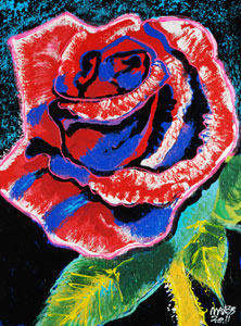 Red Rose - 18x24 - ?