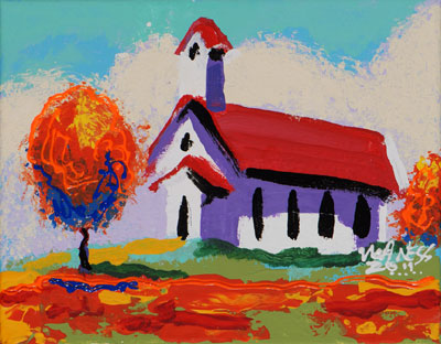 Bright Church - 8x10 - ?