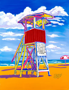Guard Tower - 30x40 - SOLD