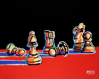 Chess Mate - 24x30 - ?