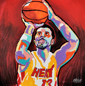 Mike Miller Shooter - 24x36 - SOLD