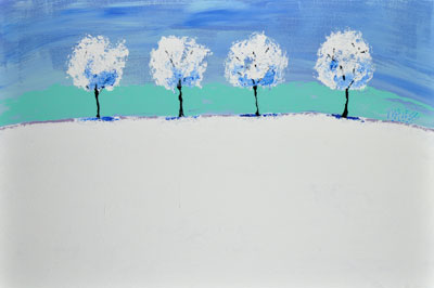 Winter Solitude - 24x36 - ?
