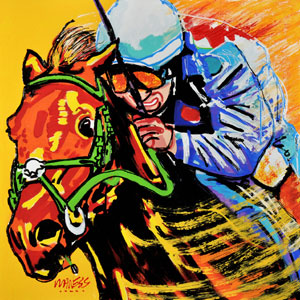 Derby Hopeful - 30x30 - SOLD