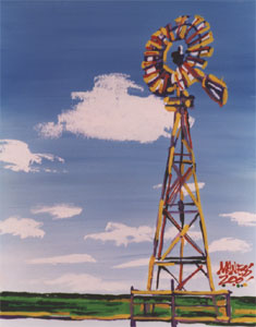 Windmill - 16x20 - SOLD