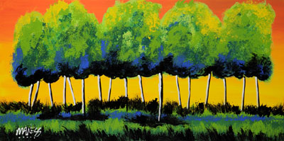 Sunset Summer Grove - 18x36 - ?