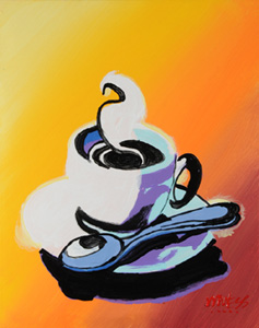 Hot Coffee - 16x20 - ?