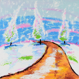 Road to Snow - 20x20 - ?