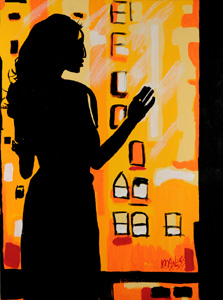 Stranger in my House - 30x40 - ?