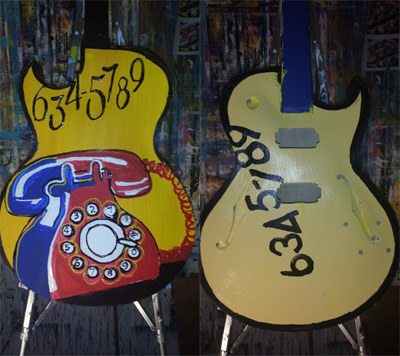 634-5789 Guitar<br>Signed by Steve Cropper and Eddie Floyd - n/a - ?